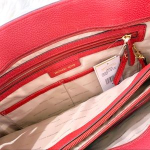 Michael Kors Bags - Michael Kors The Mercer Large Red Tote